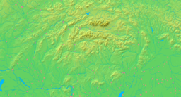 Location of Banská Bystrica within Slovakia