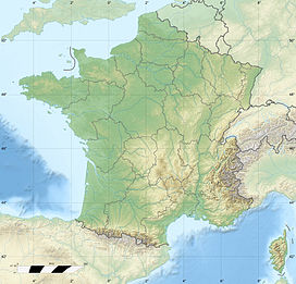 Mont Bichet is located in France