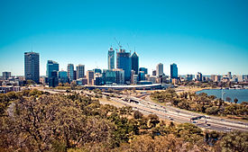 Perth Skyline in 2011