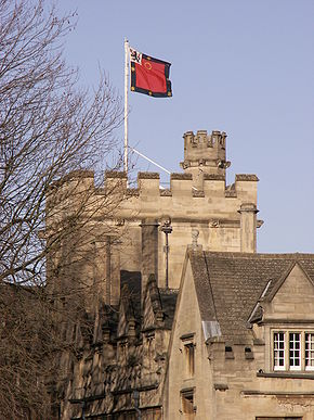 St John's College tower and flag.jpg