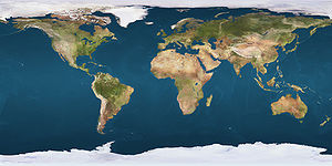 Parallel 36°30′ north is located in Earth