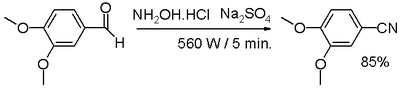 one-pot synthesis from aldehyde