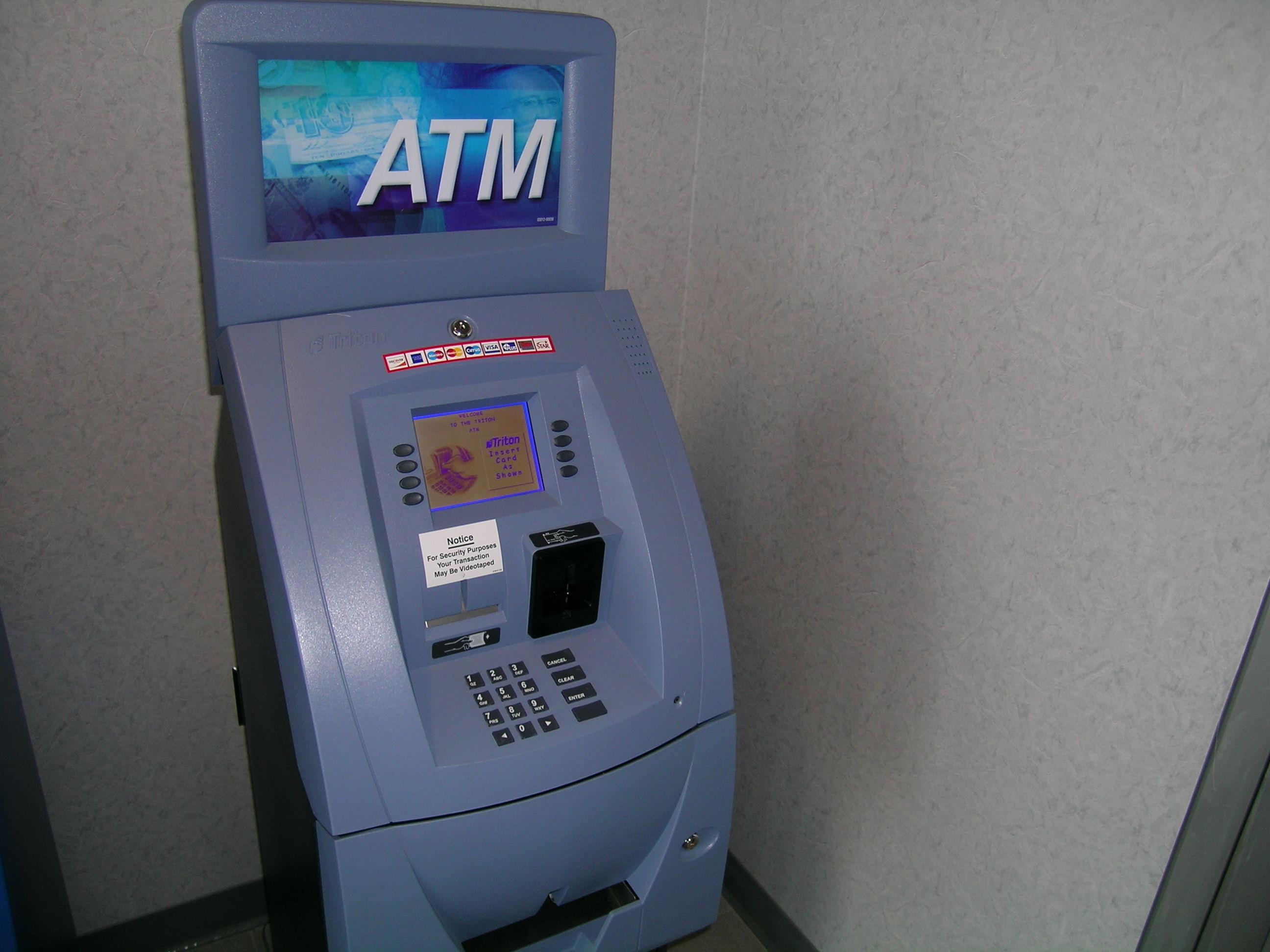 how to rob a atm machine