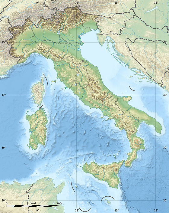 Italian Army is located in Italy