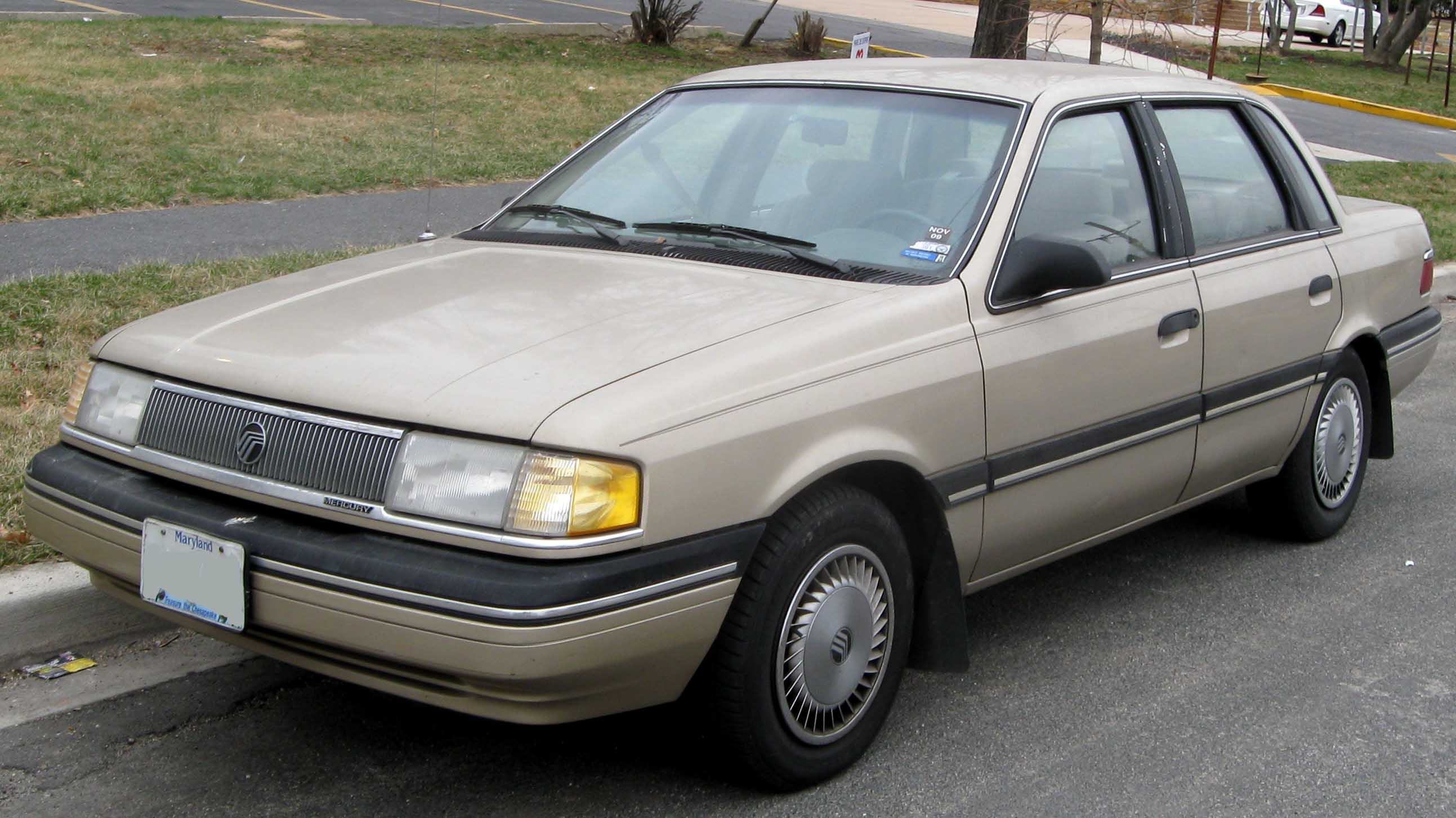 1990 Ford Taurus >> Mercury Topaz