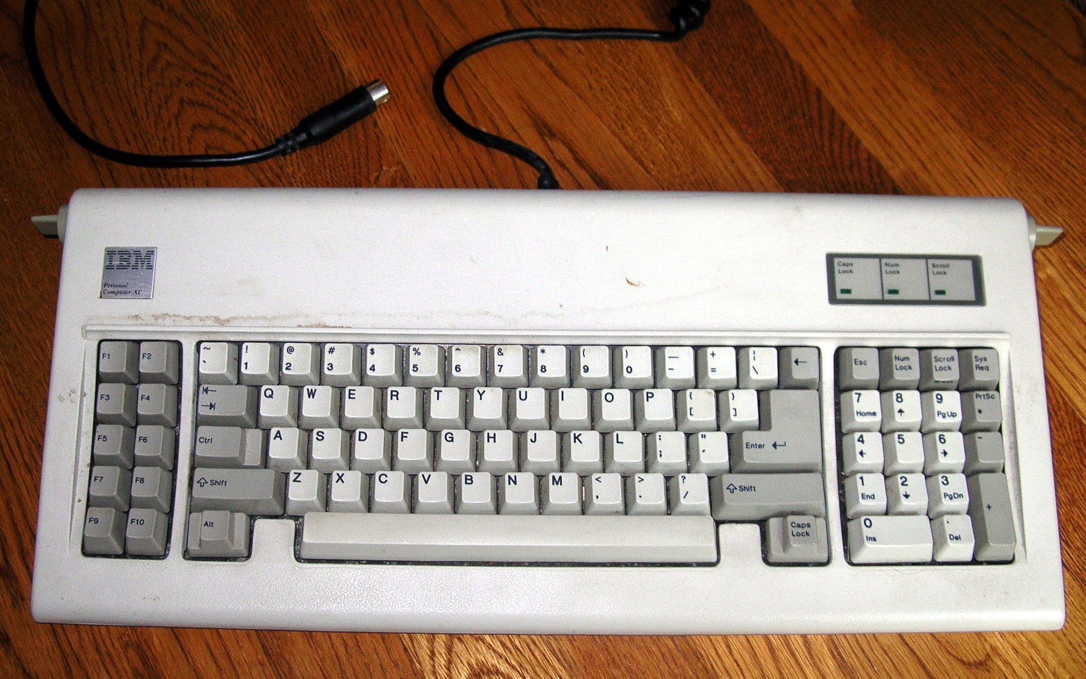 ibm pc keyboard. Black Bedroom Furniture Sets. Home Design Ideas