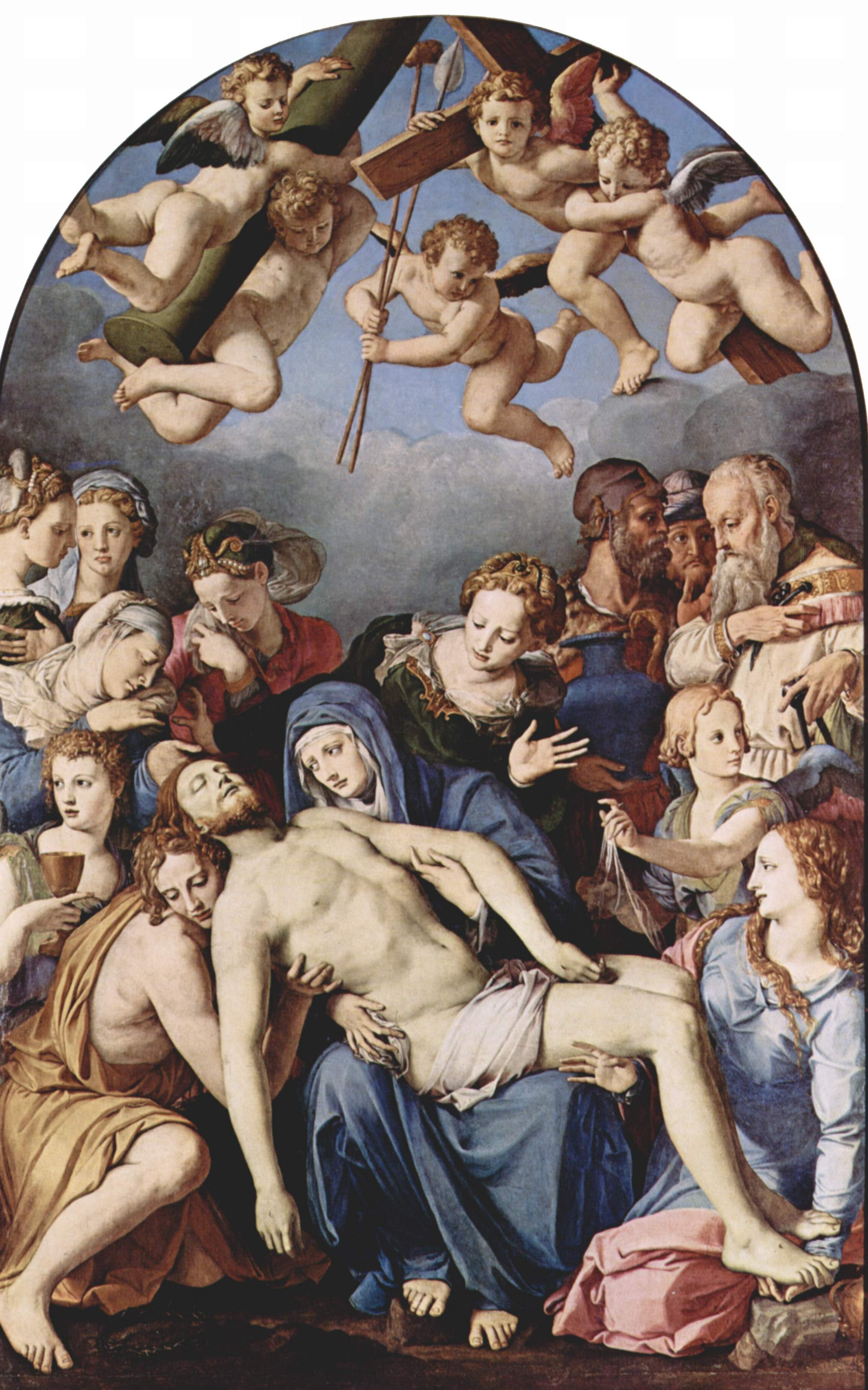 Descent from the cross pontormo