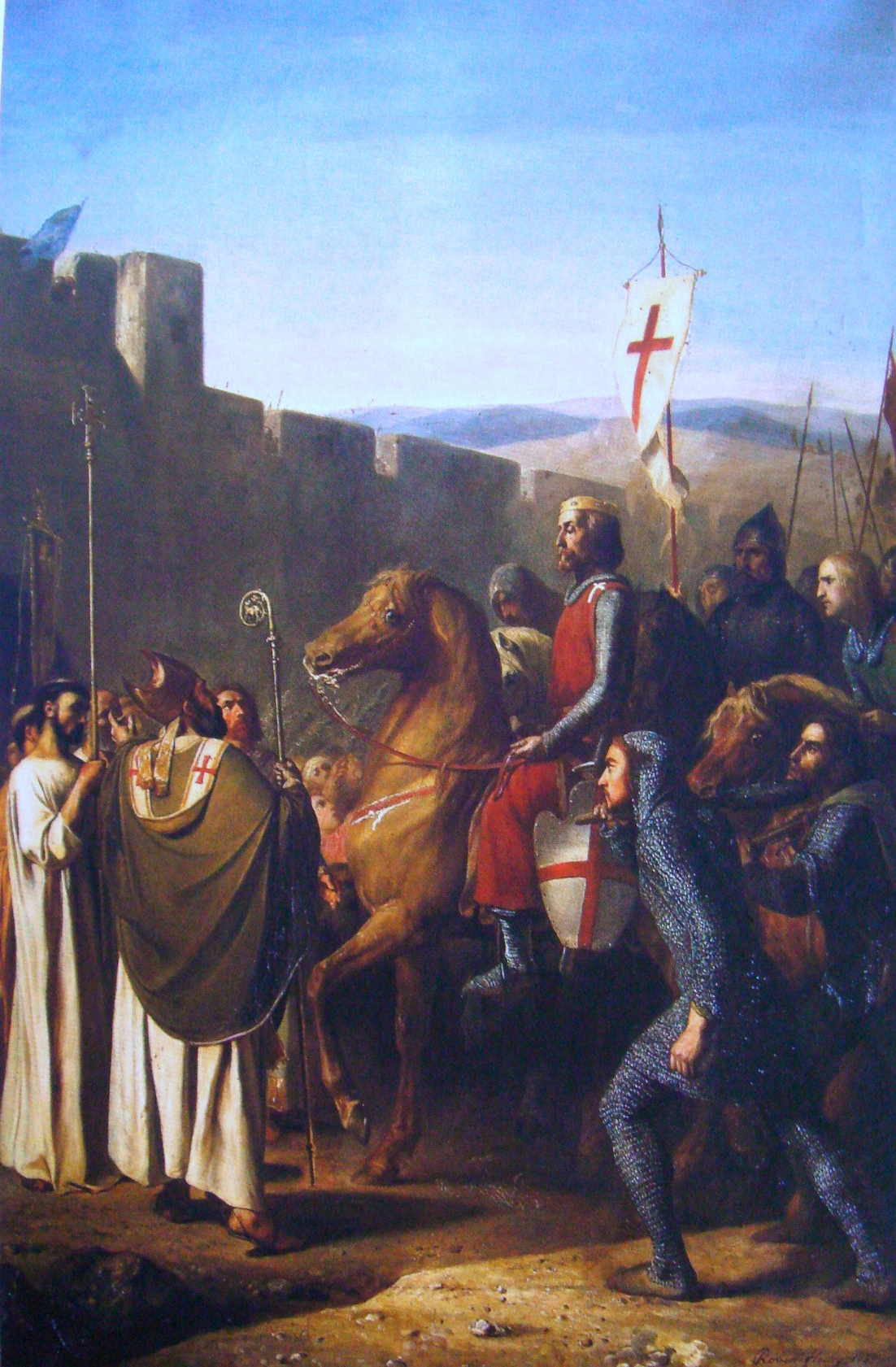 Essay/Term paper: The first crusade