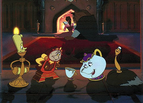 Characters In Disney S Beauty And The Beast