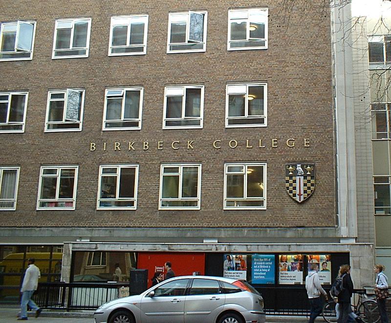 Birkbeck university of london for Extra mural studies mumbai university