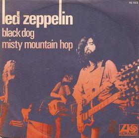 Led Zeppelin Black Dog Album Name