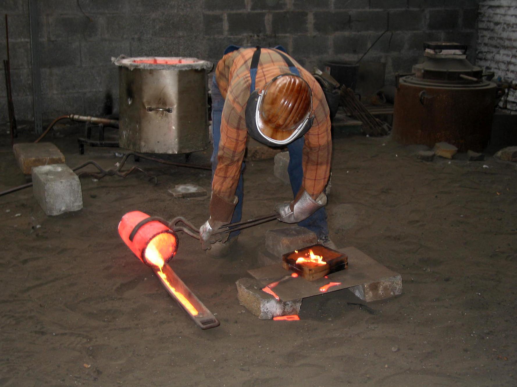 Раскалить метал домашних условиях