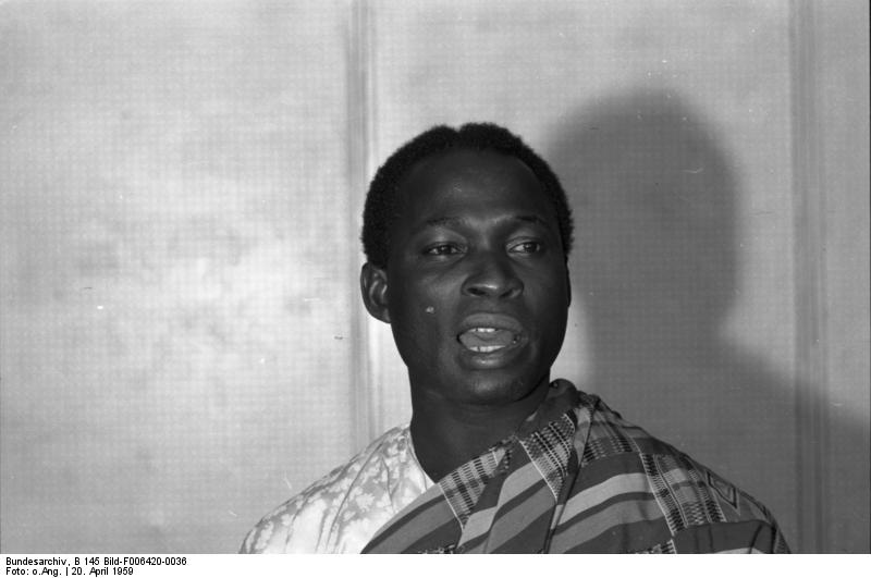 Bundesarchiv B 145 Bild F006420 0036, Bonn, Informationsminister aus Ghana Nkusukum People: Highly Intellectual And Fearless Ethnic Fante Sub-group Who Were The Original Custodians Of Borbor Mfantse Nananom Mpow (Ancestral Grove Of The Fantes)