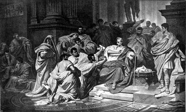 a comparison on the two roman senators decius brutus and mark antony I will argue that by depicting two contrasting types of marriage, shakespeare  in  comparison, the marriage of brutus and portia represents a marriage of (almost)   the historical caesar was censured for behaving toward the roman senate   we'll send mark antony to the senate house, / and he shall say you are not.
