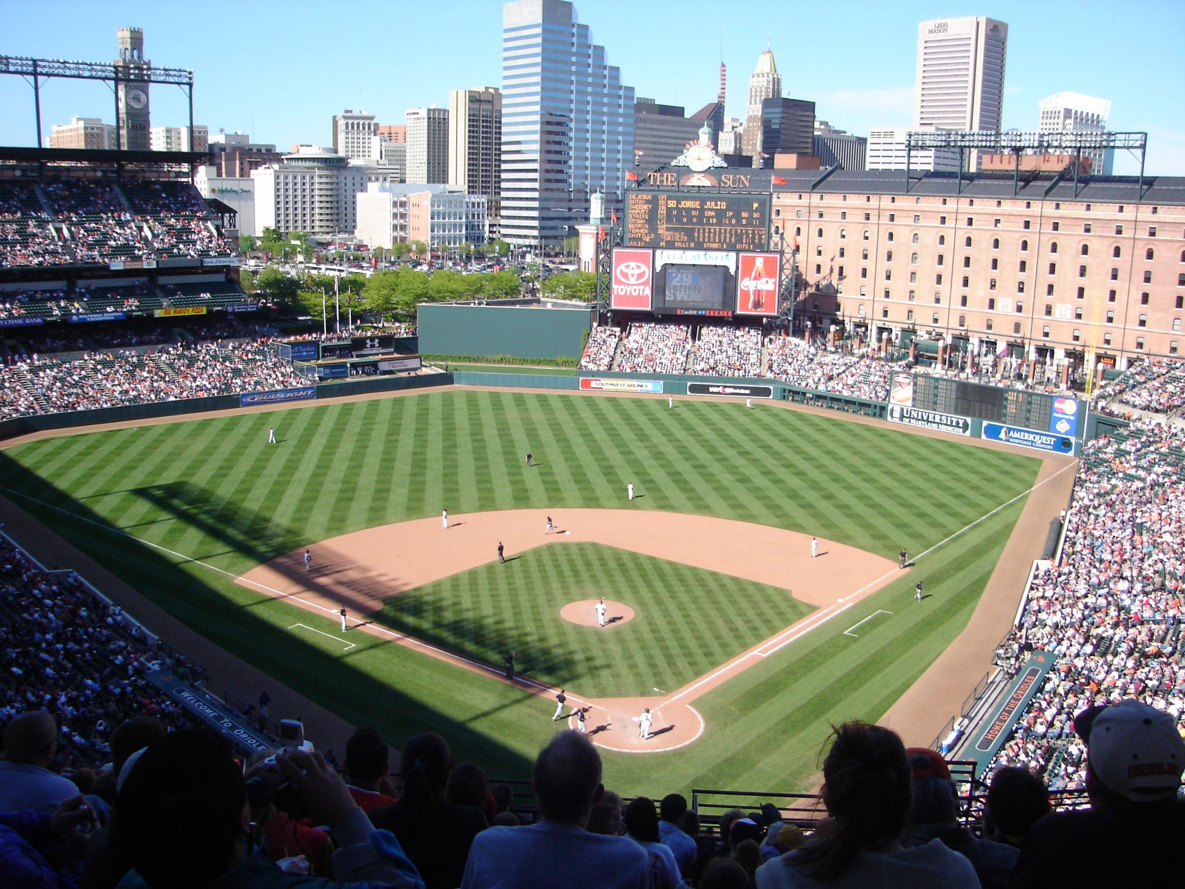 Every Seat Is A Good Seat At Camden Yards Even The Last