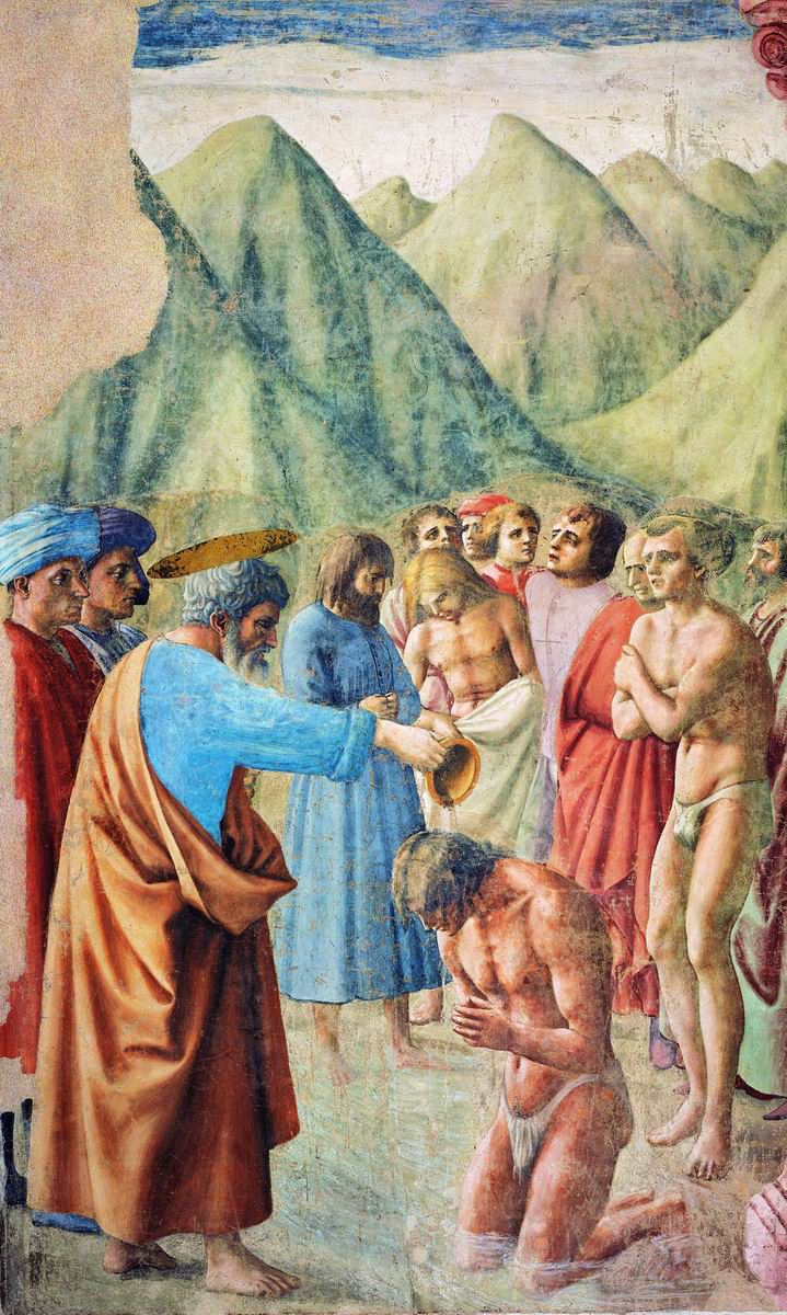 the crucifixion by masaccio theology religion essay Comparison of russian orthodox and roman catholic sacred art  the goal of this essay is to fuse these two methodologies and show  and the crucifixion of christ.