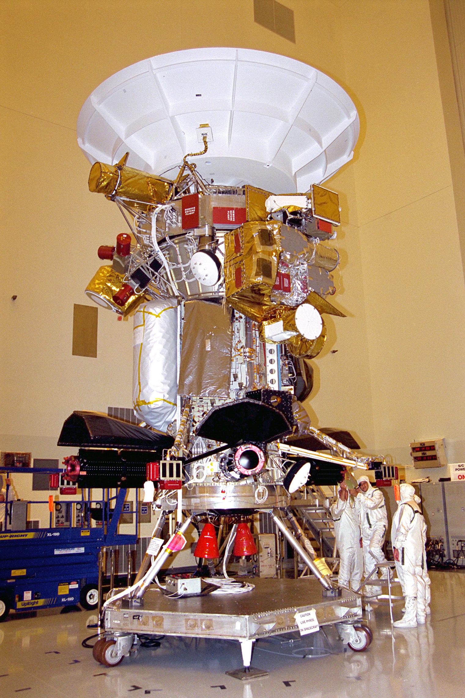 Cassini Spacecraft Design Spacecraft Design Cassini