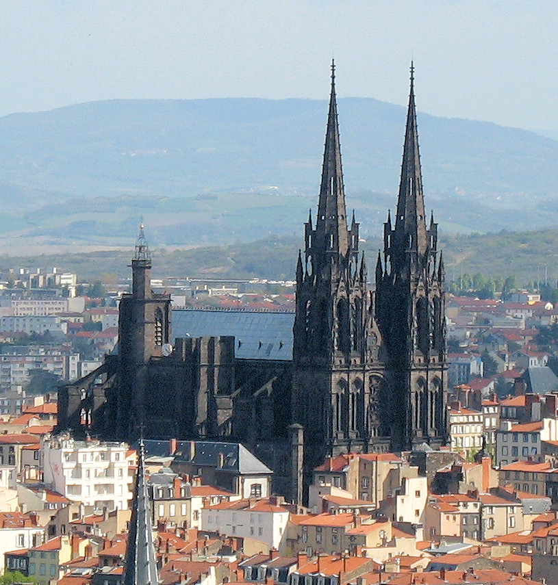 clermont ferrand cathedral. Black Bedroom Furniture Sets. Home Design Ideas