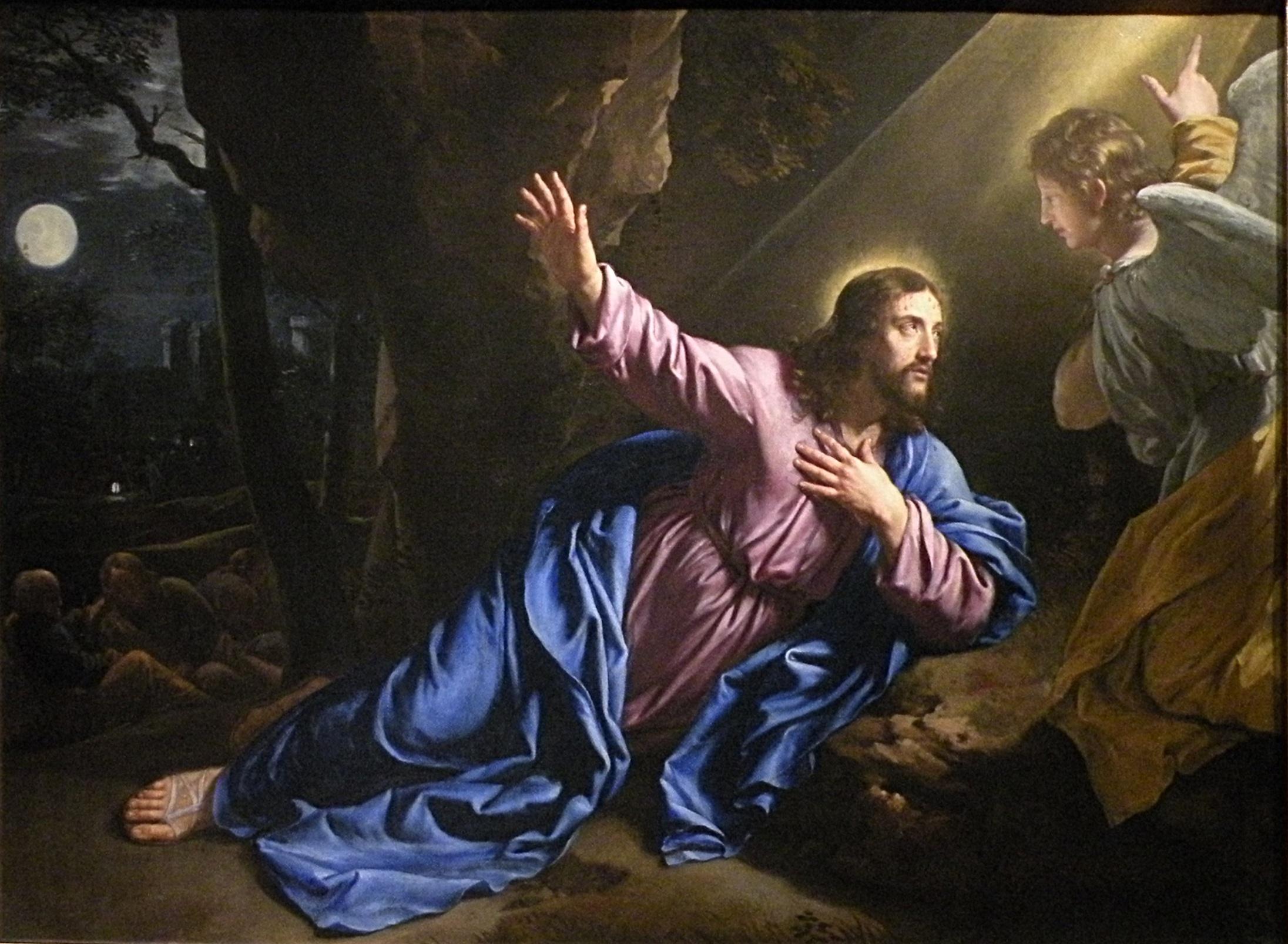Jesus for Au jardin des oliviers barr