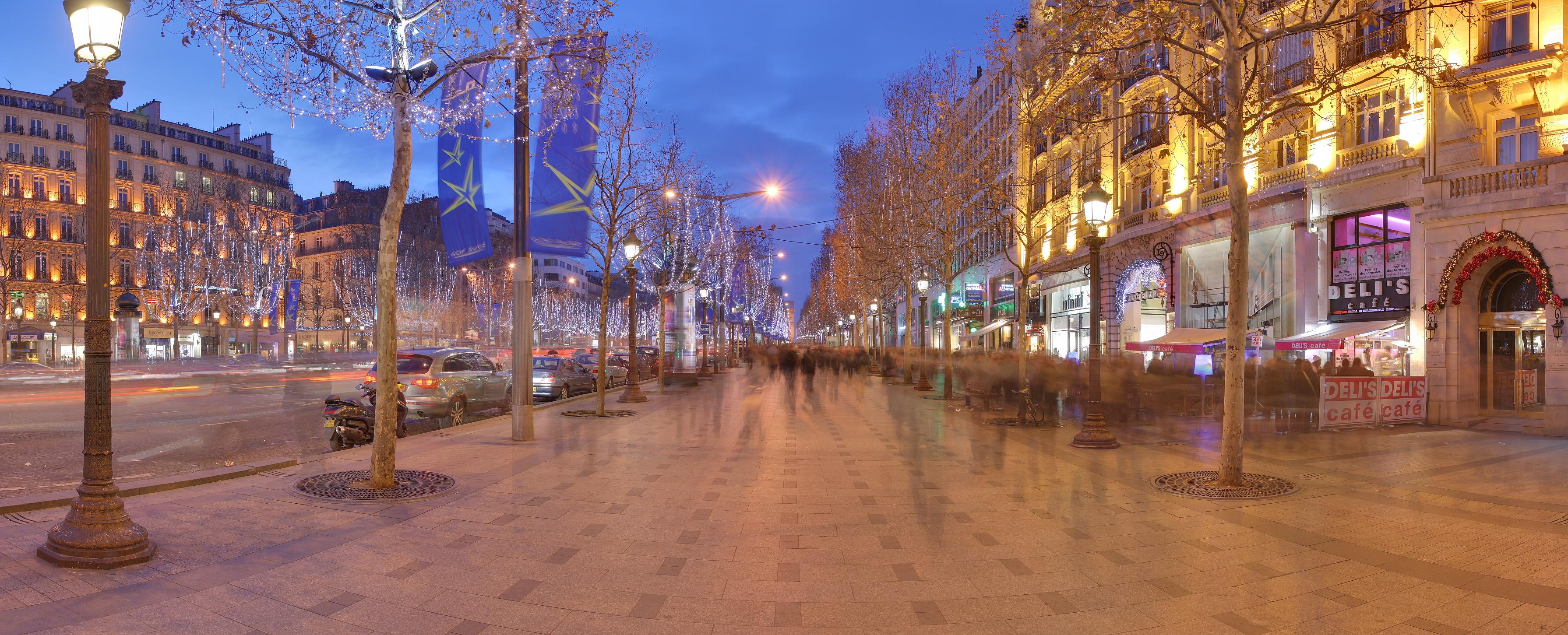 Champs lys es - H m avenue des champs elysees ...