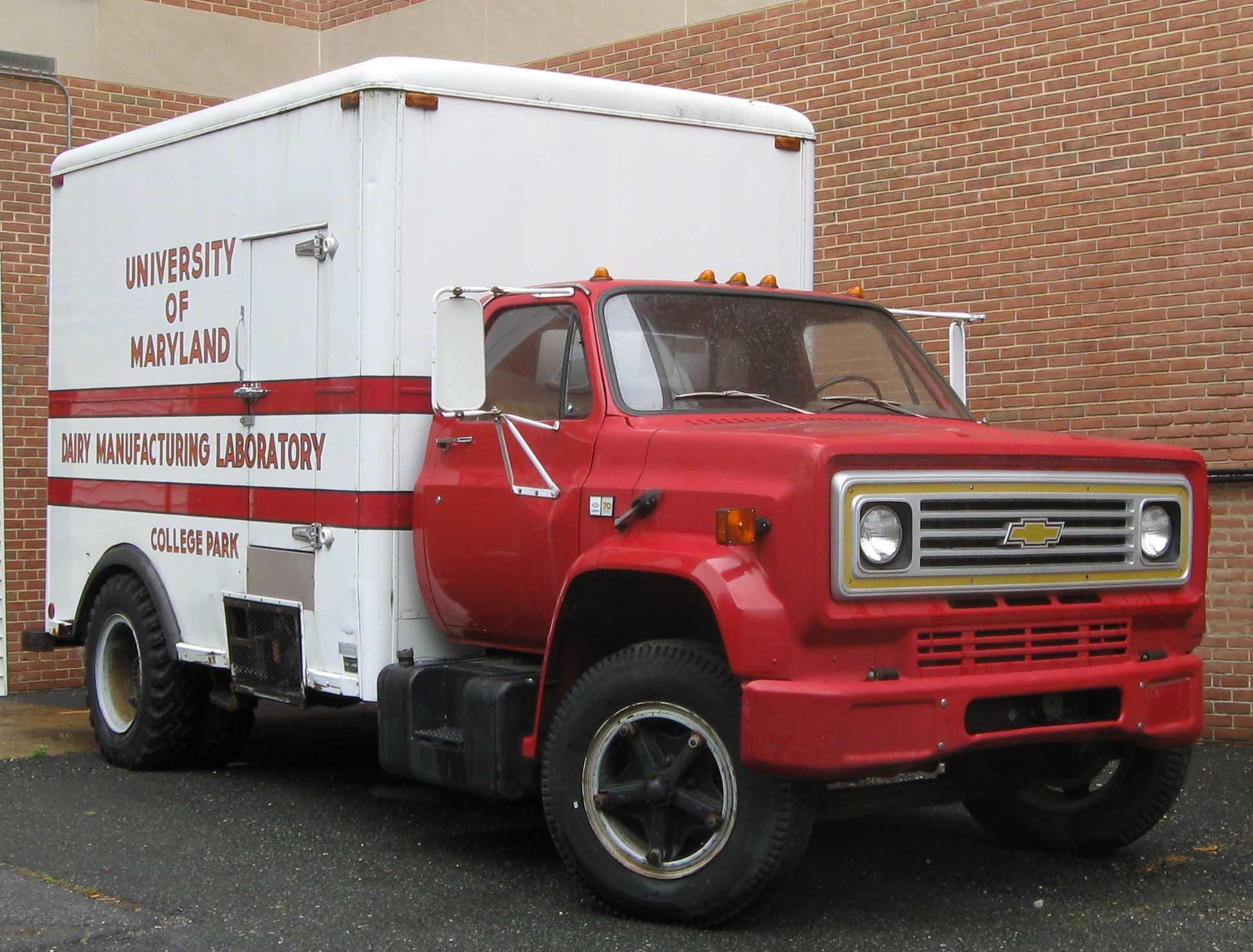 Chevrolet mercial Trucks Kodiak