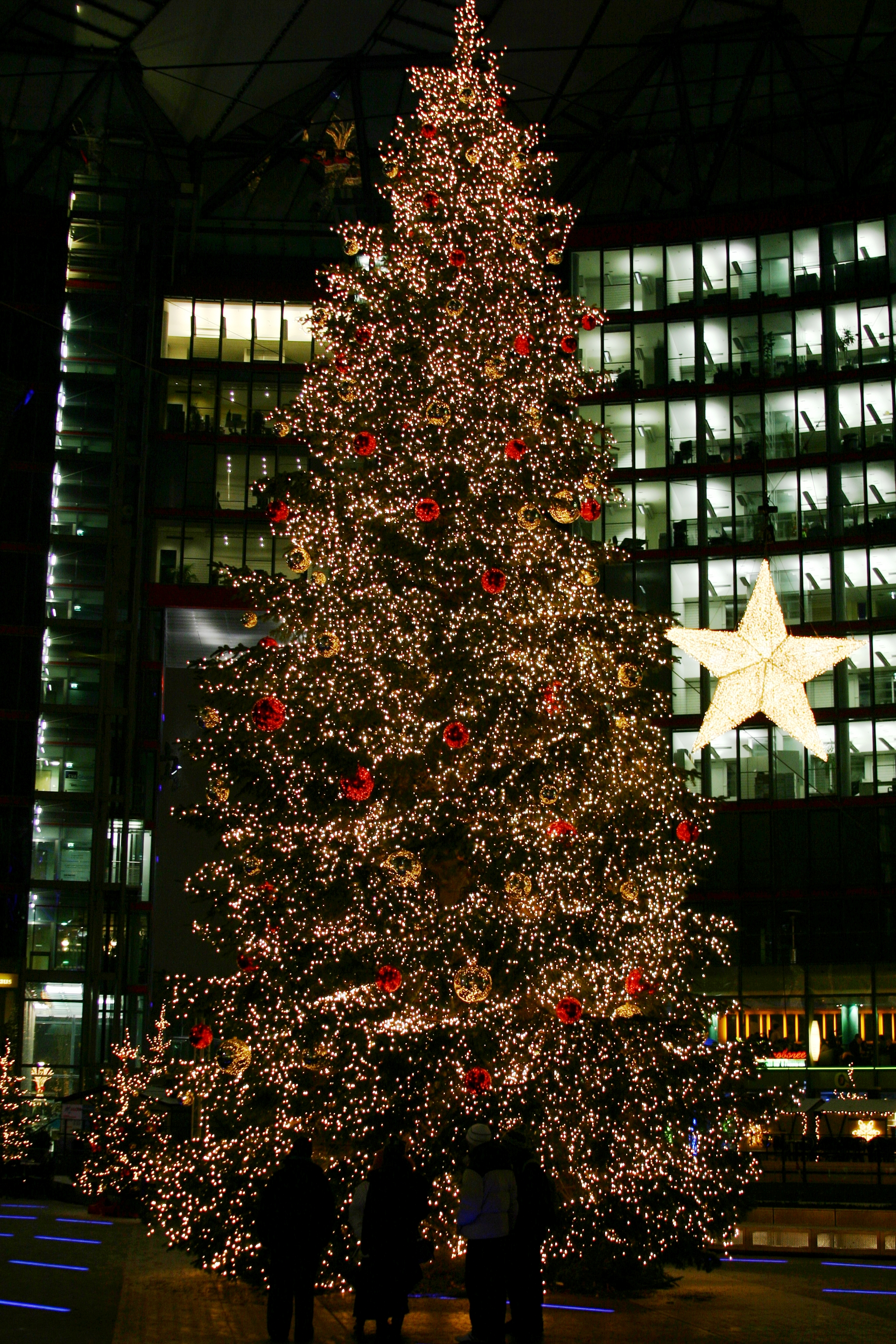 Christmas Tree On The Potsdamer