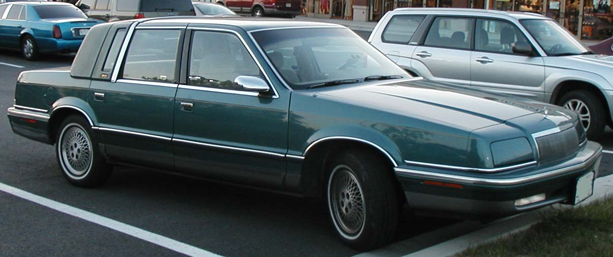 Chrysler new yorker for 1992 chrysler new yorker salon