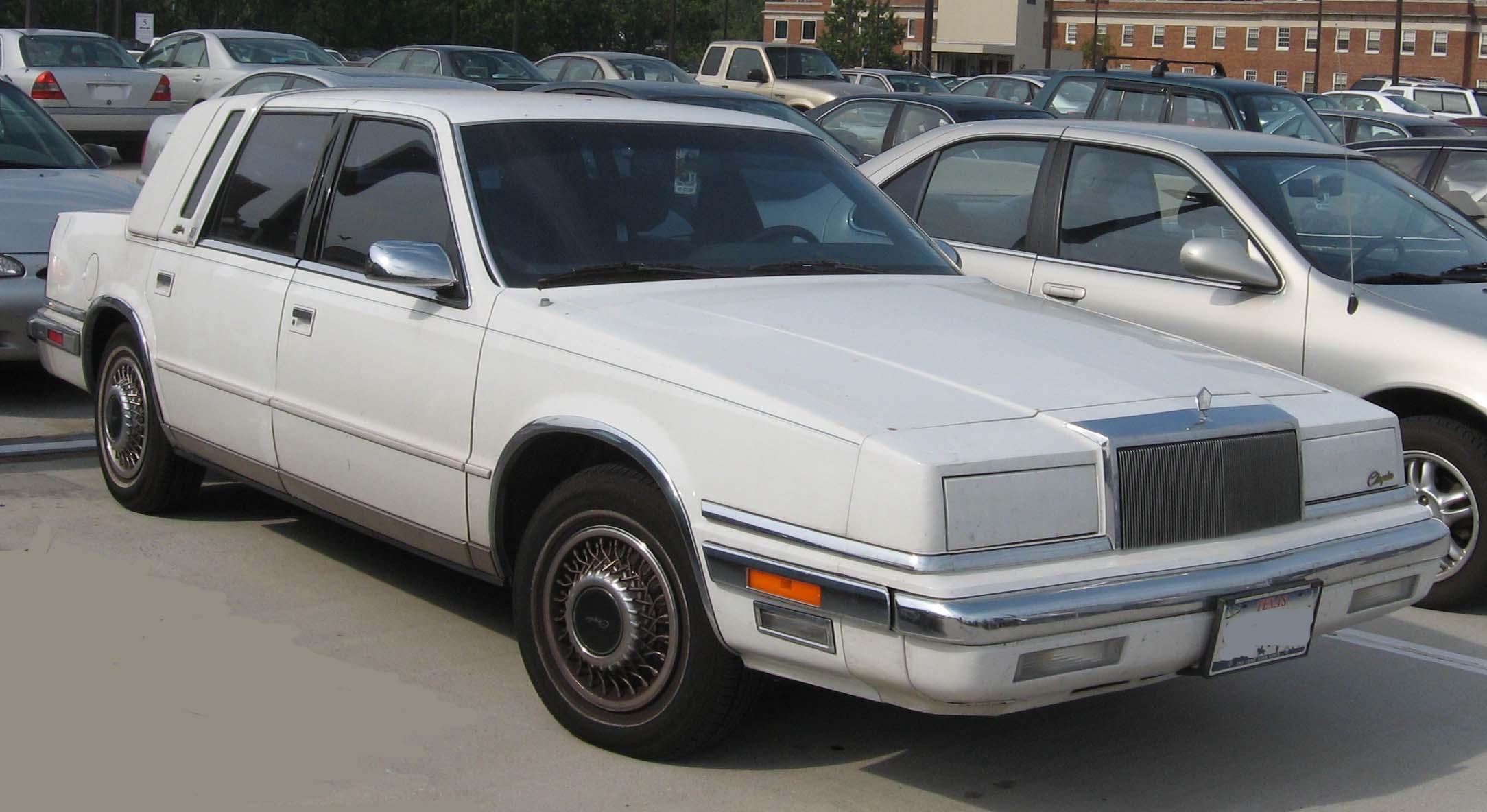 Chrysler new yorker for 1991 chrysler new yorker salon