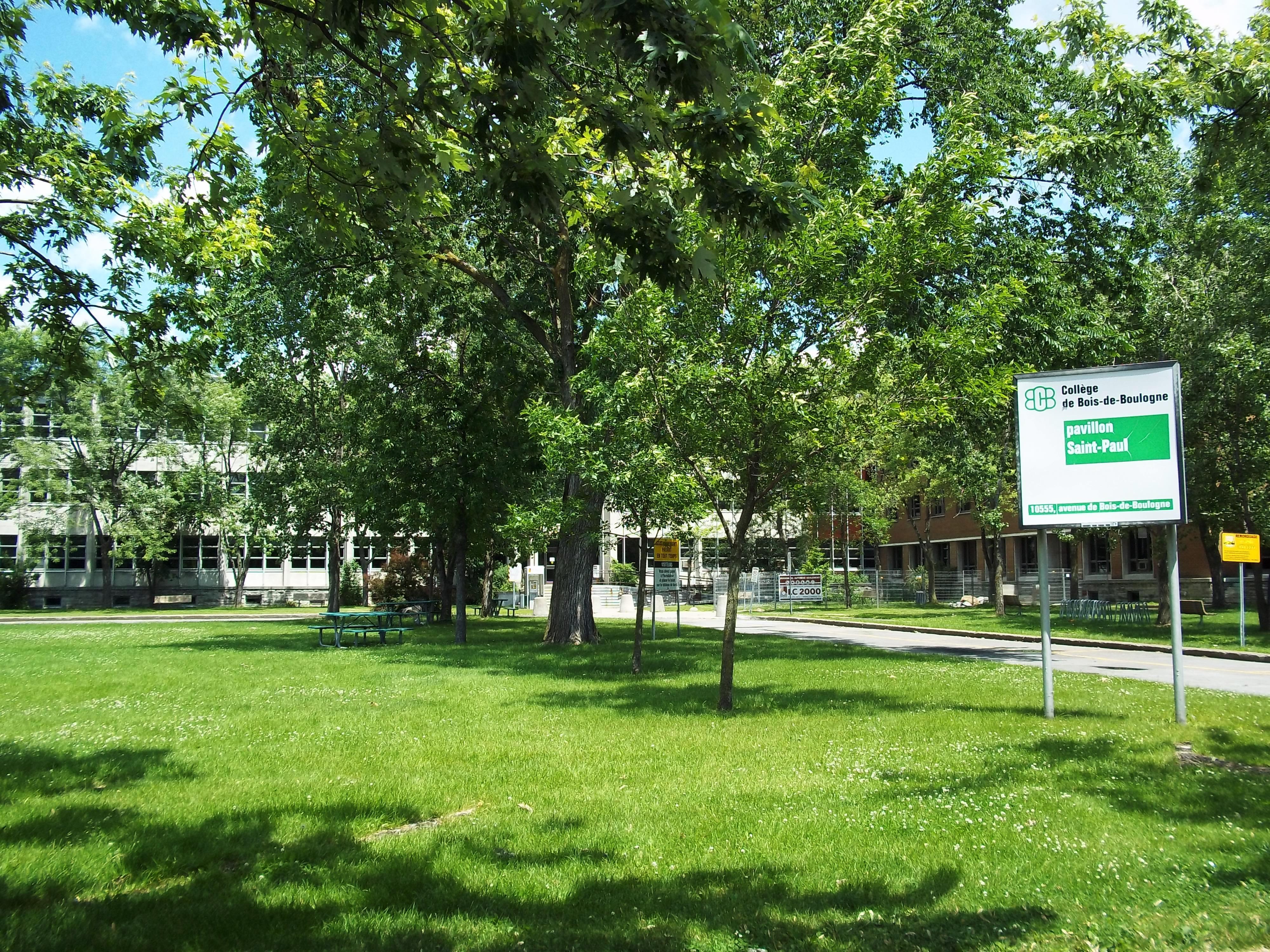 Image Bois De Boulogne : Coll?ge de Bois-de-Boulogne