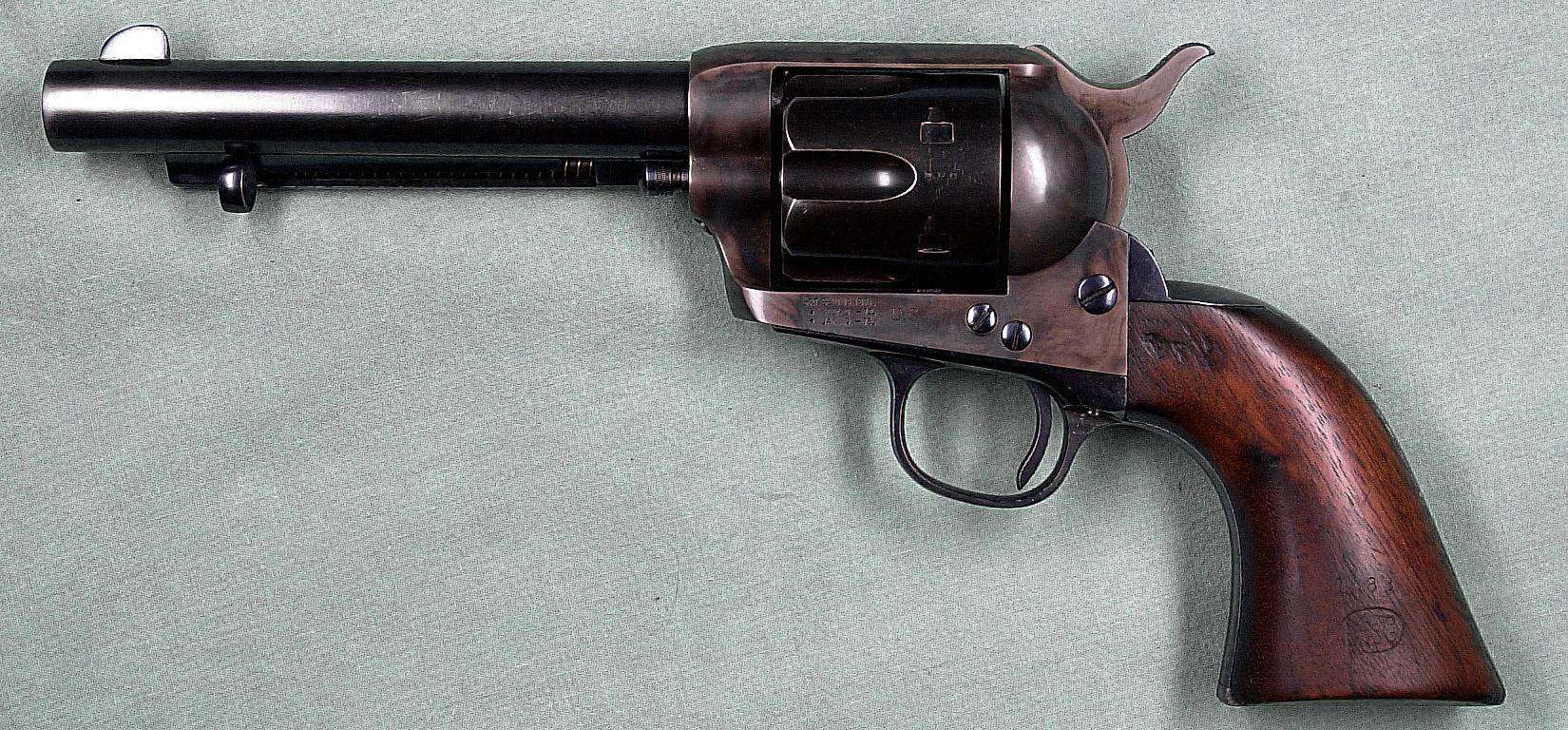 Colt Revolver 1873 Colt Model 1873 u s