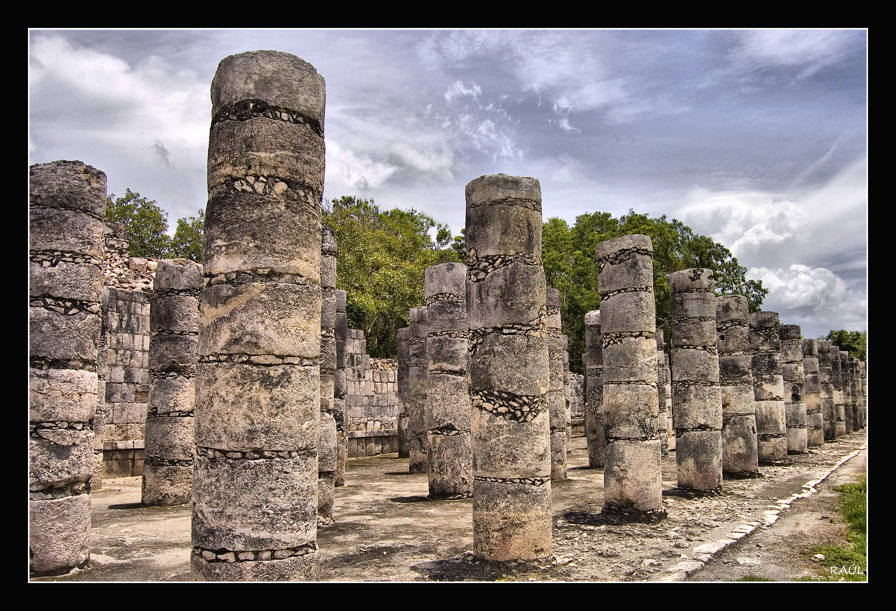 an overview of research on the temple of the warriors of chichen itza Wonderful mayan ruins mexico temple of the warriors mayan ruins at chichen itza site is a smaller version of chichen itza's temple of wide overview of the.