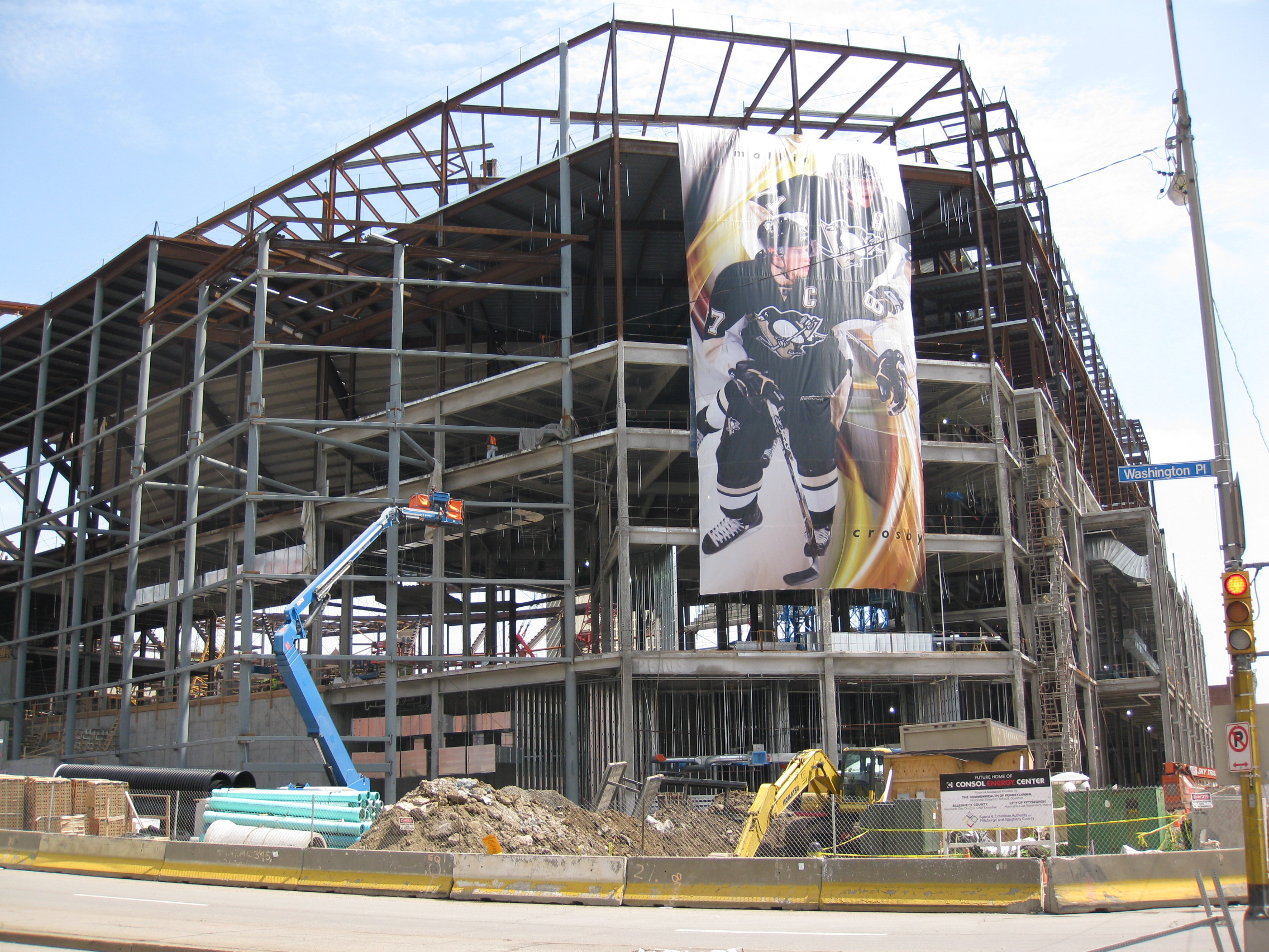 Consol energy center for Design hotels arena