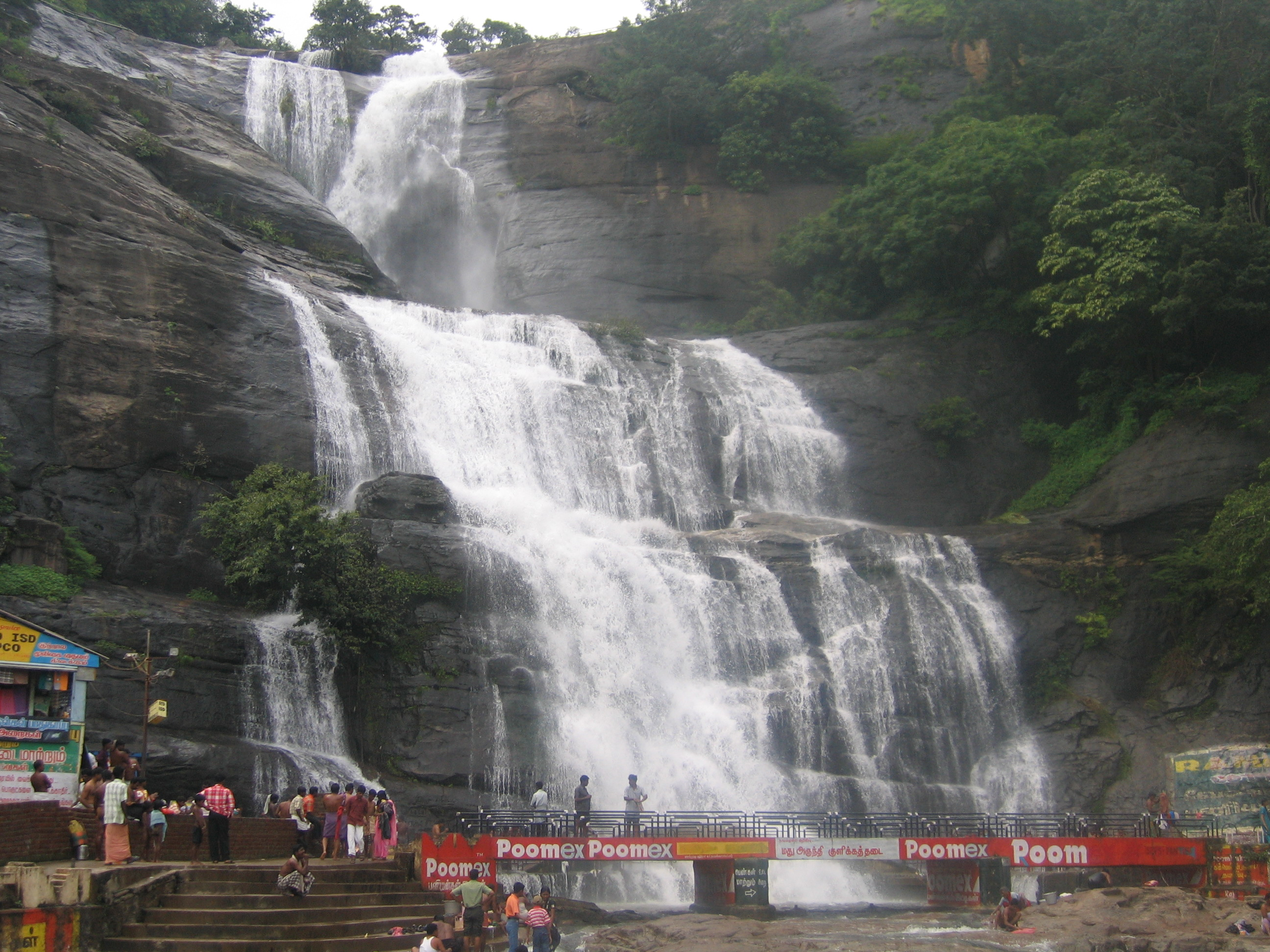 Courtallam India  City new picture : Main waterfalls