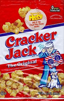 Coming soon to a store near you Cracker Jack'D, a new twist on the