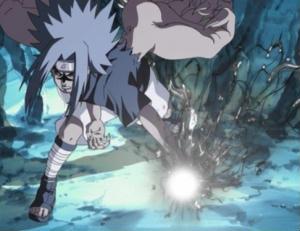 Sasuke Curse Mark 2 Chidori