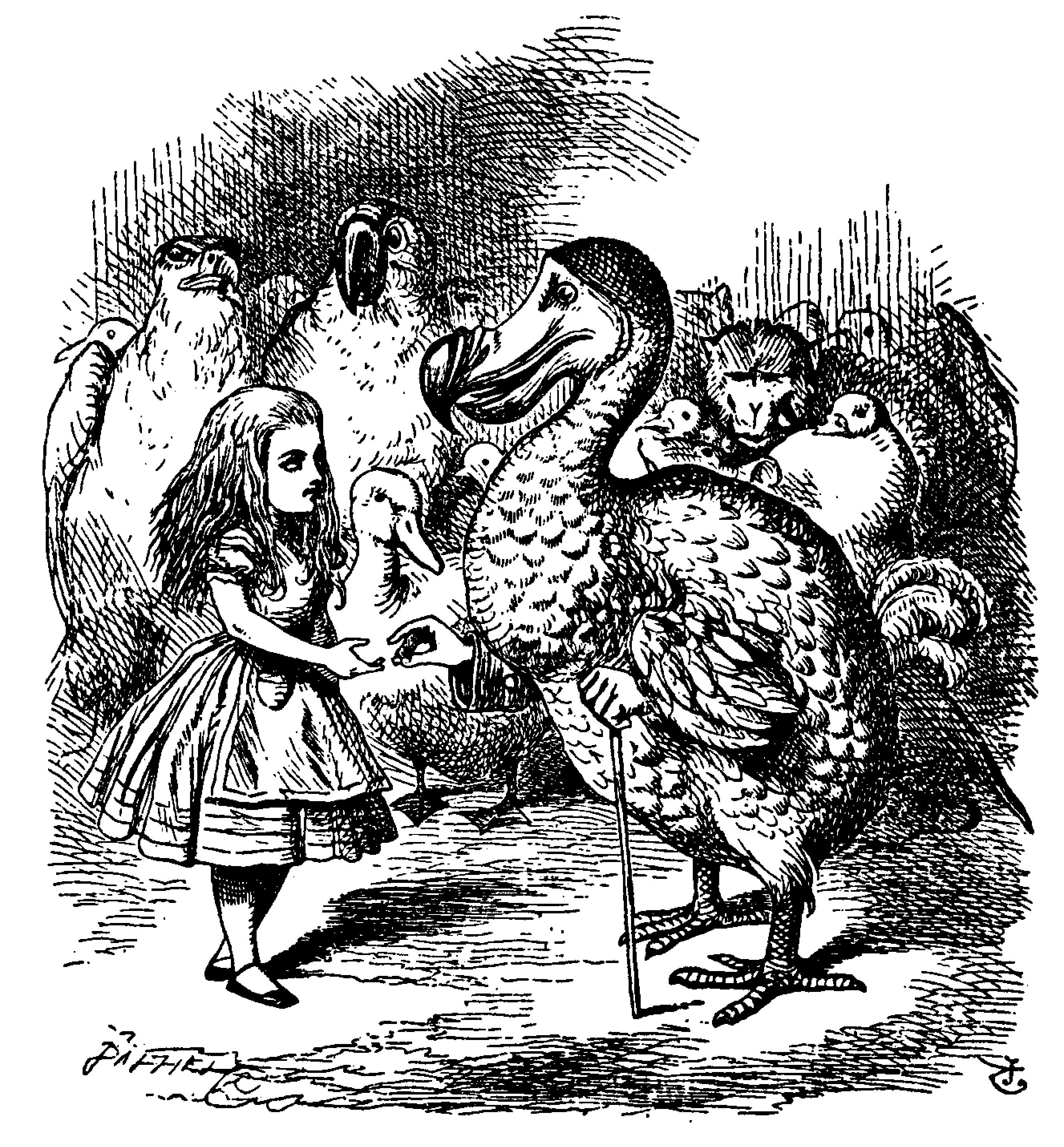 an interpretation of lewis carolls alice in wonderland She generally gave herself very good advice, (though she very seldom followed it) lewis carroll, alice's adventures in wonderland & through the looking-glass.