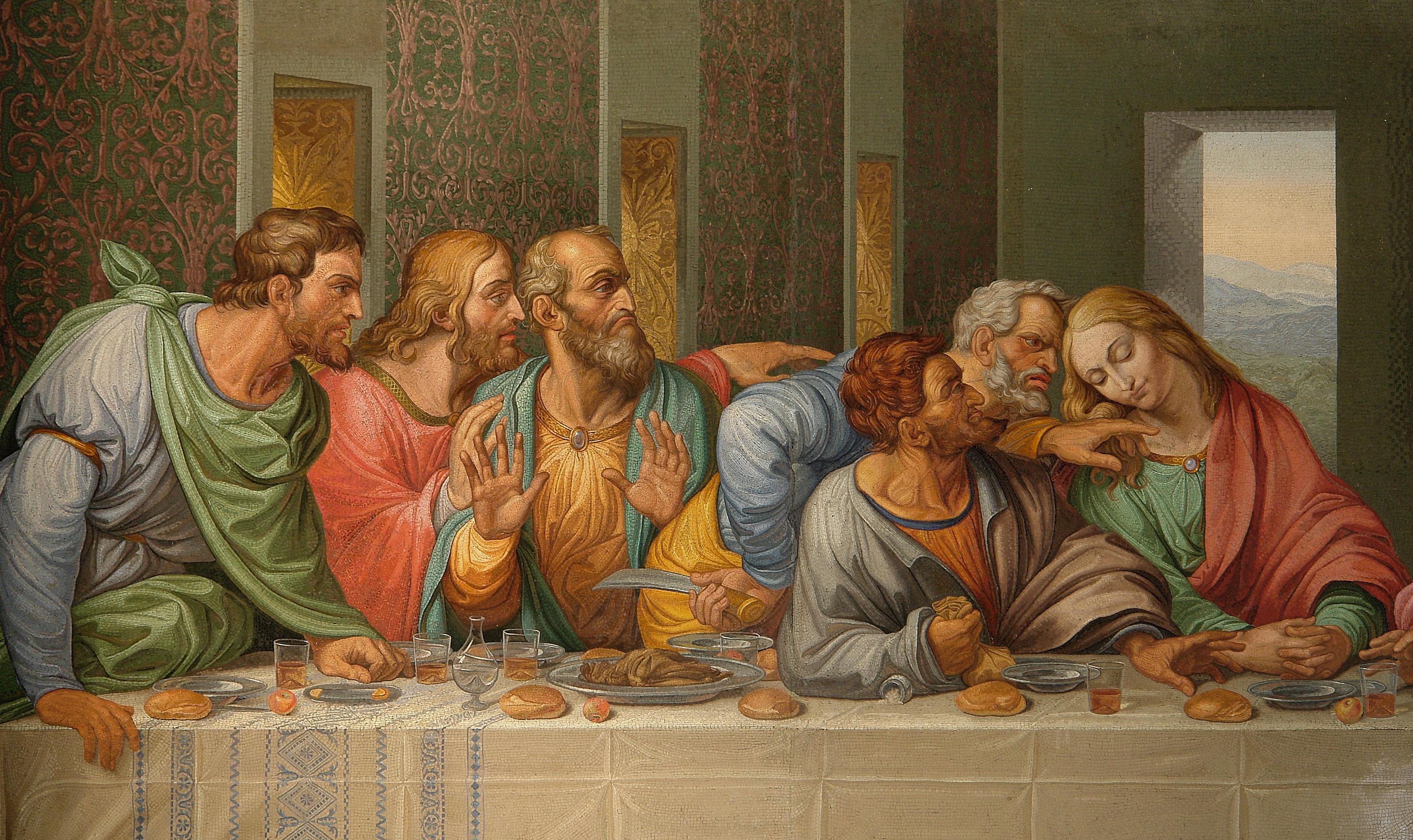 Леонардо да винчи тайная вечеря где находится картина