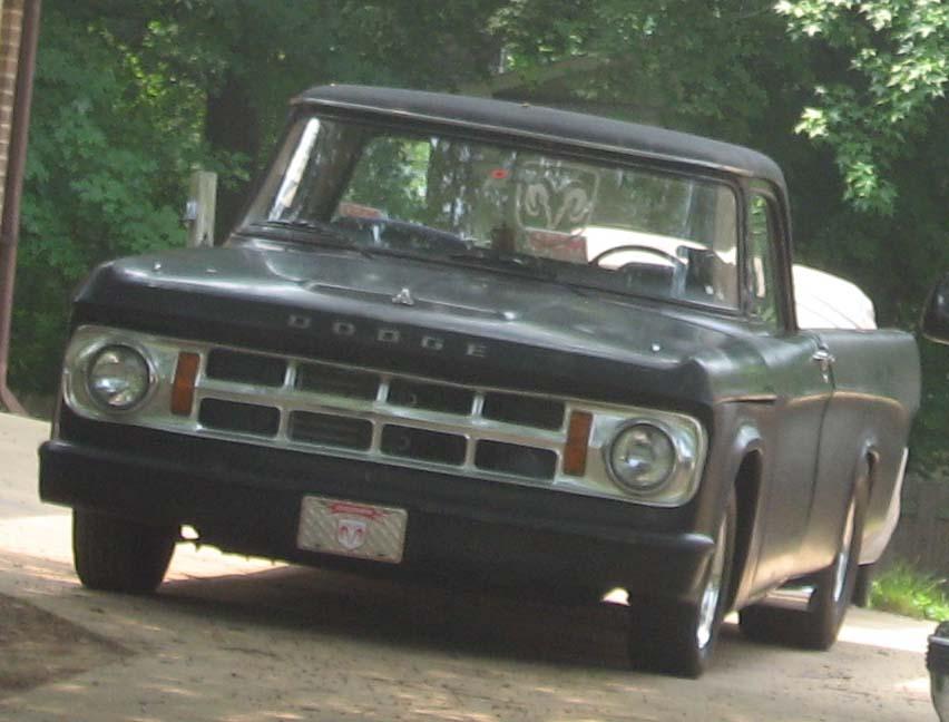 1968-1970 Dodge D-Series