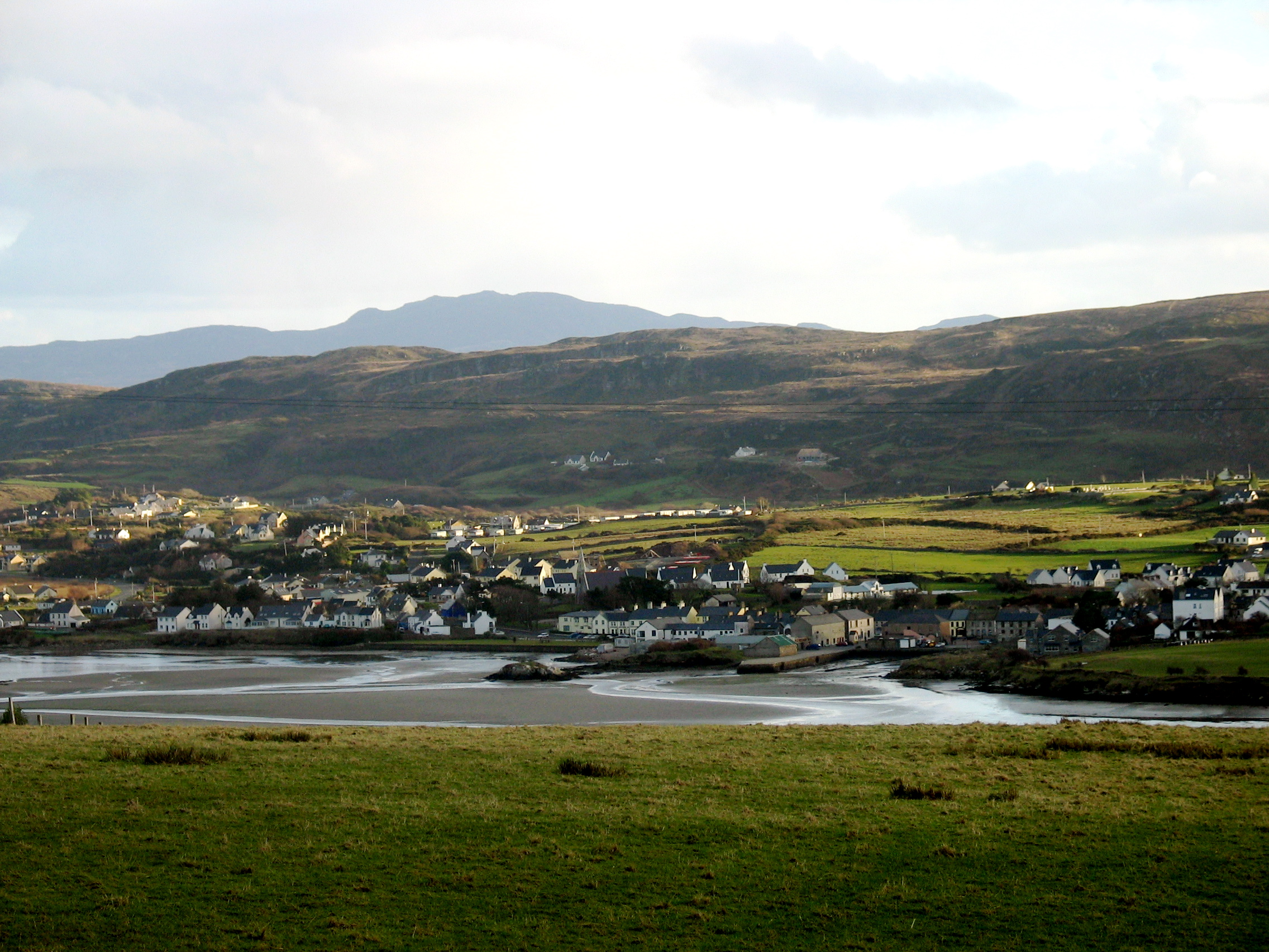 Dunfanaghy Ireland  city photos : View of Dunfanaghy from Horn Head .