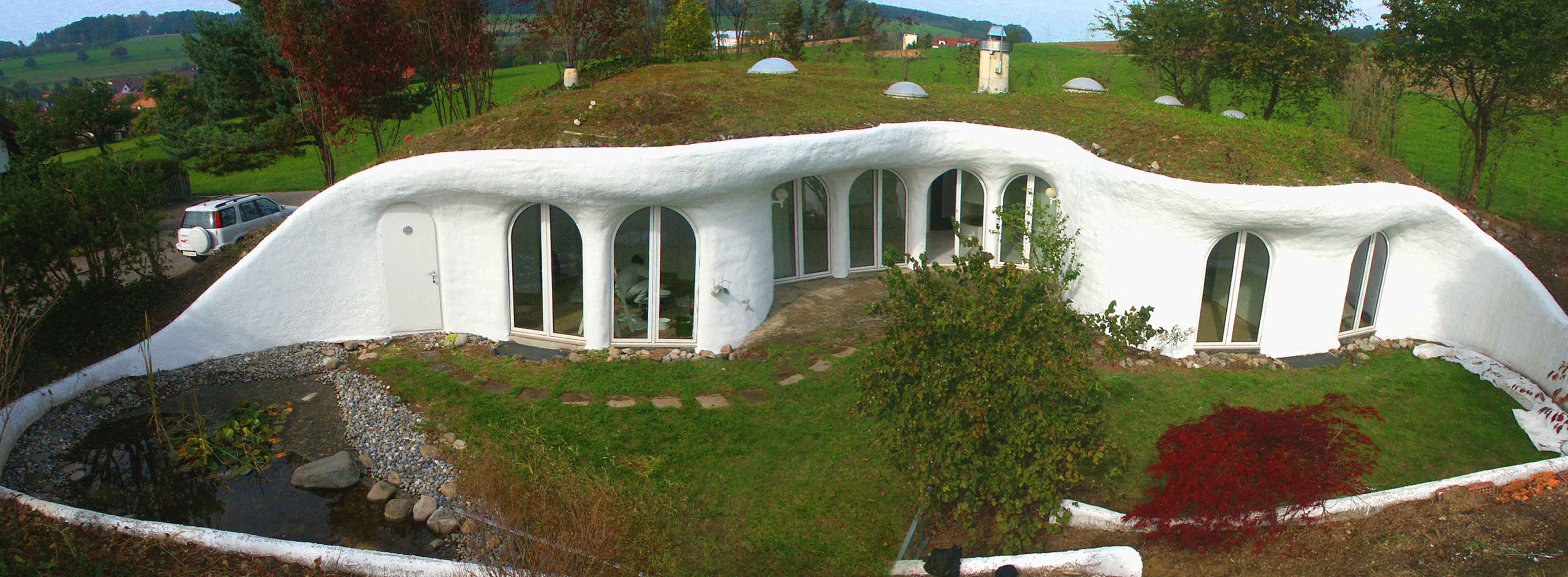 Earth house for Earth bermed homes