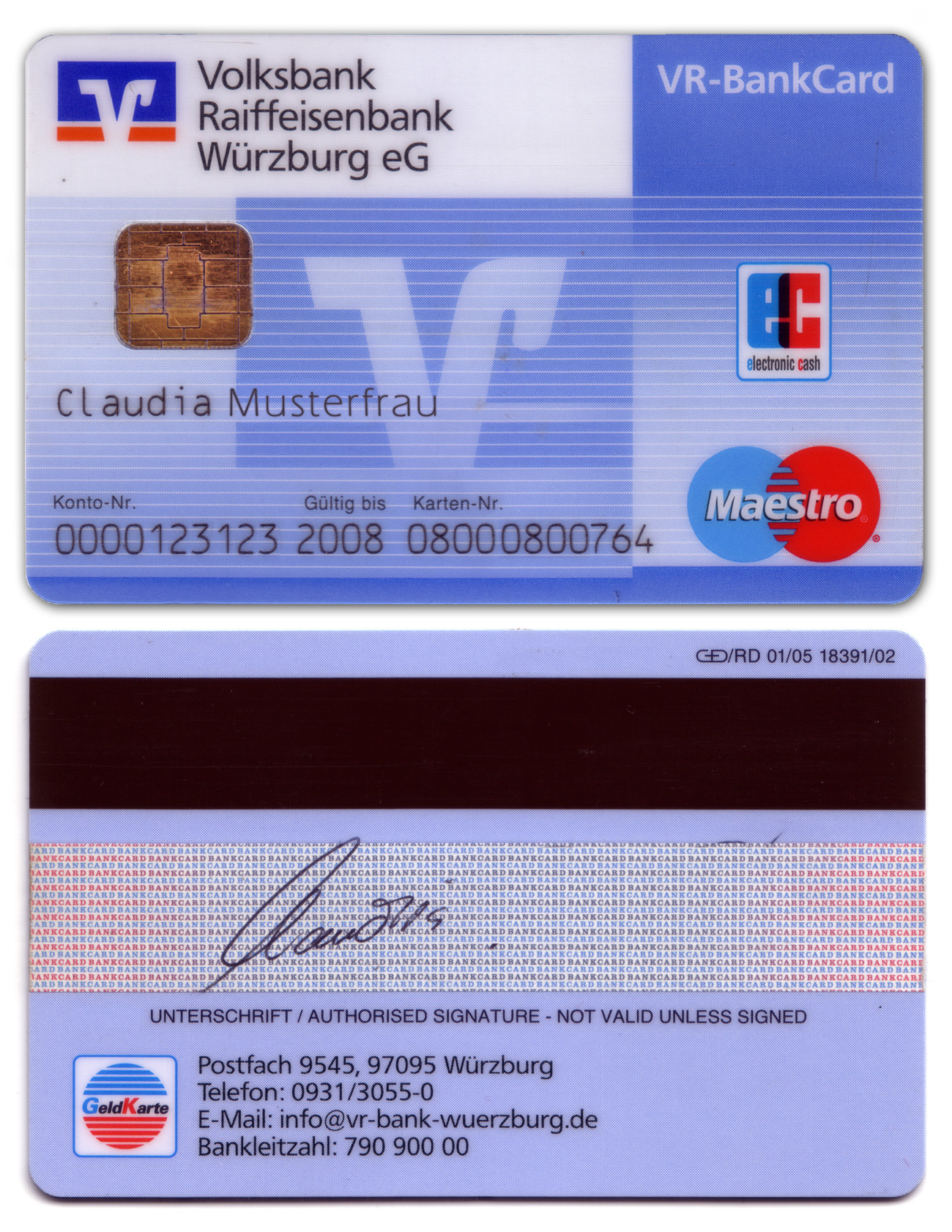 debit card ec karte