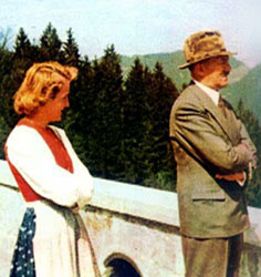 hitler color video eva braun