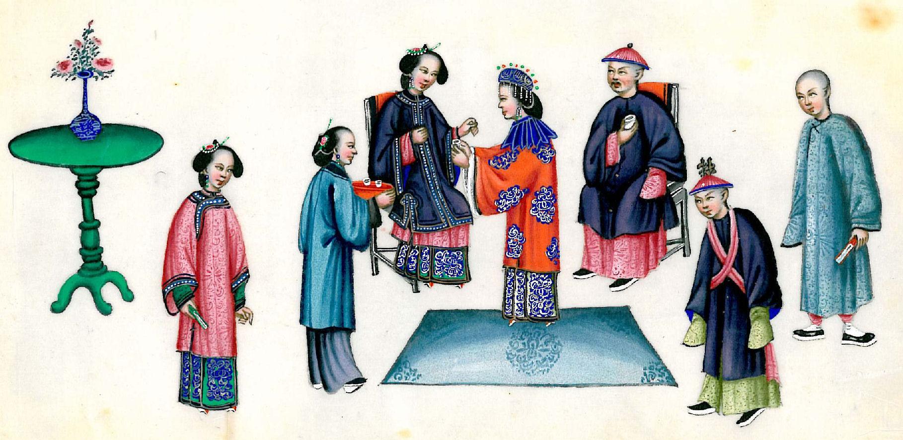 Ancient China Noble Men Fashion