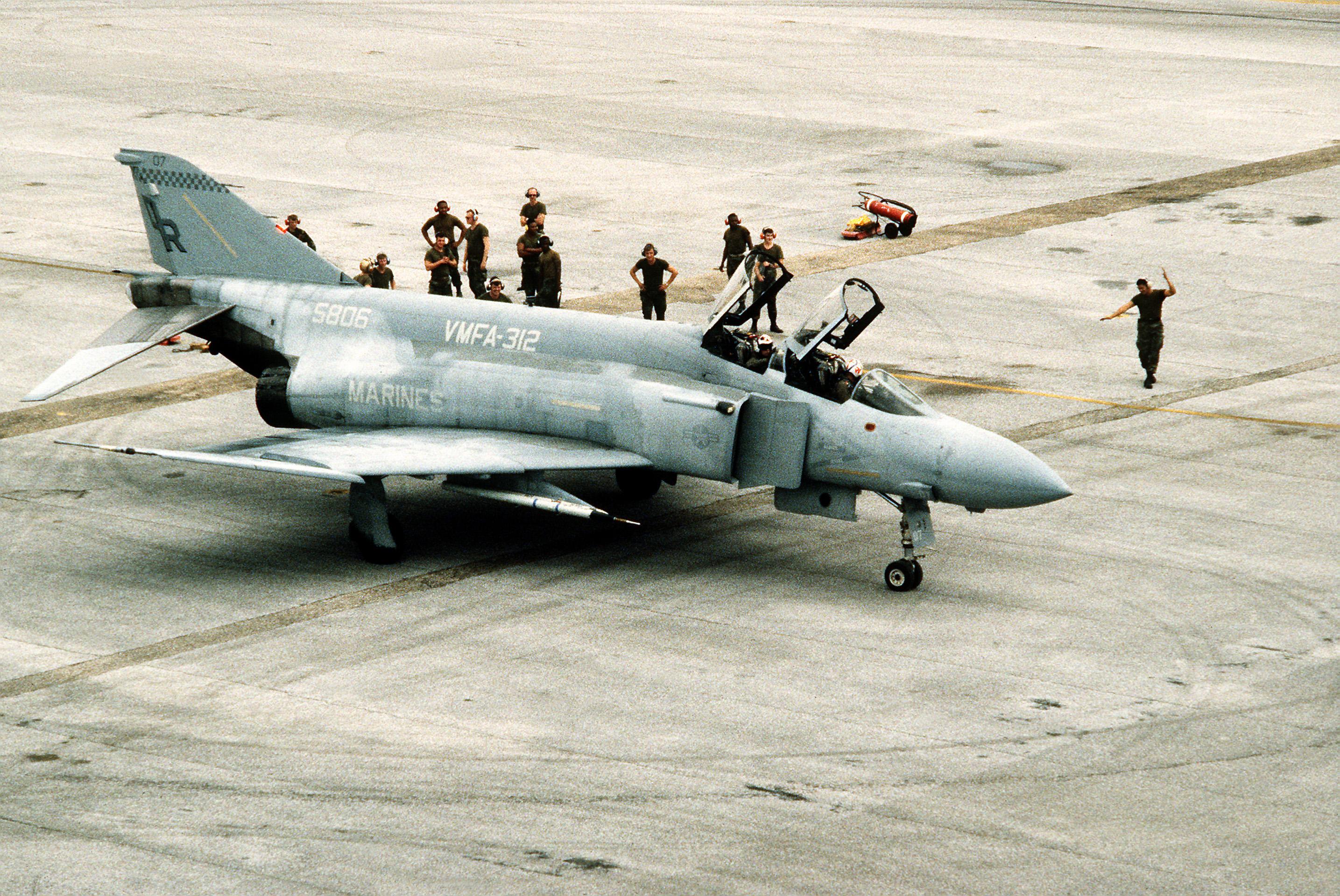 McDonnell Douglas F-4 Phantom II U.S. operators