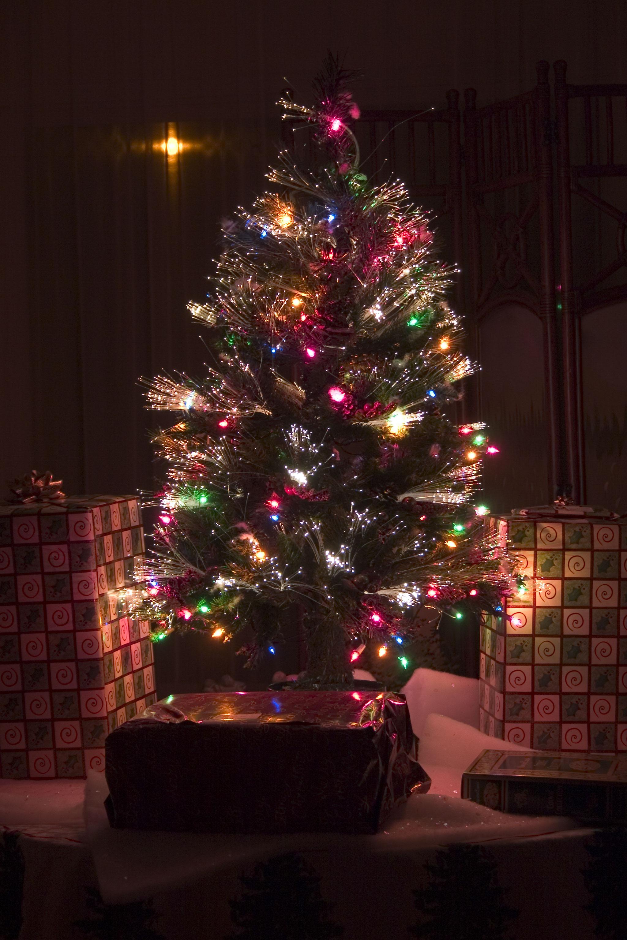 Fiber Optic Christmas Tree
