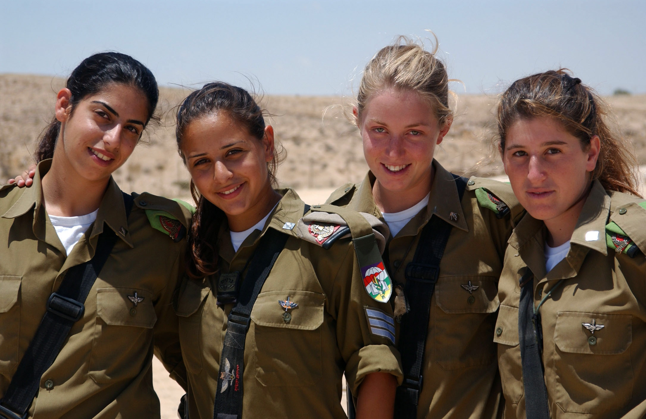 IDF female infantry recruits: en.academic.ru/dic.nsf/enwiki/24611