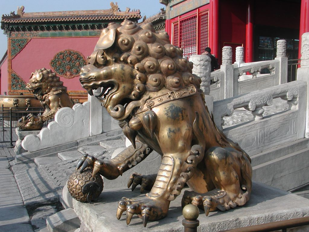 chinese lion statue meaning statue meaning 10555