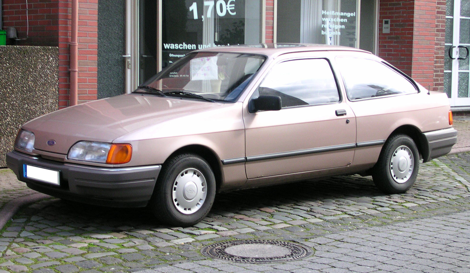 Ford sierra clx 1988 zweitürig