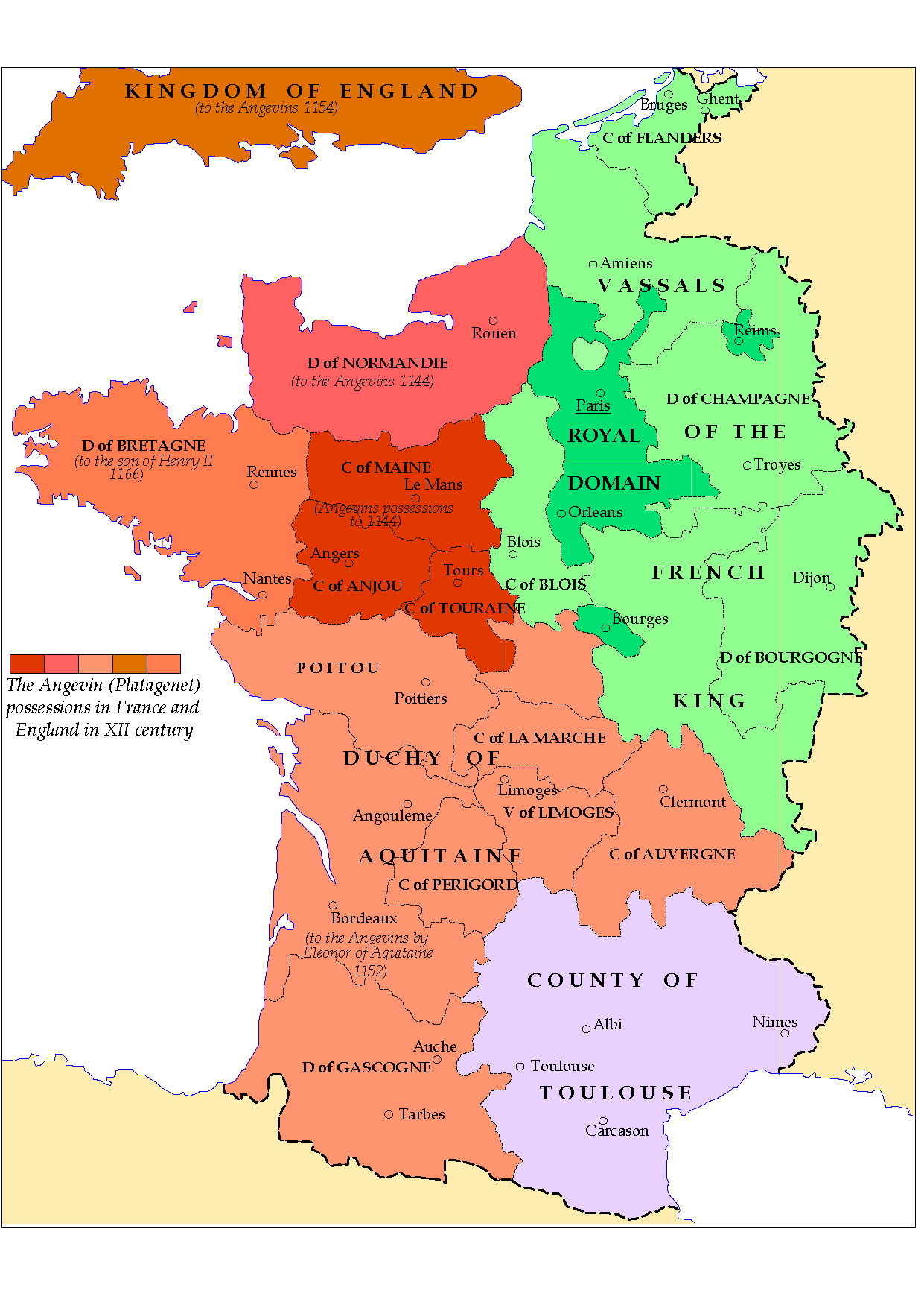 france in the middle ages
