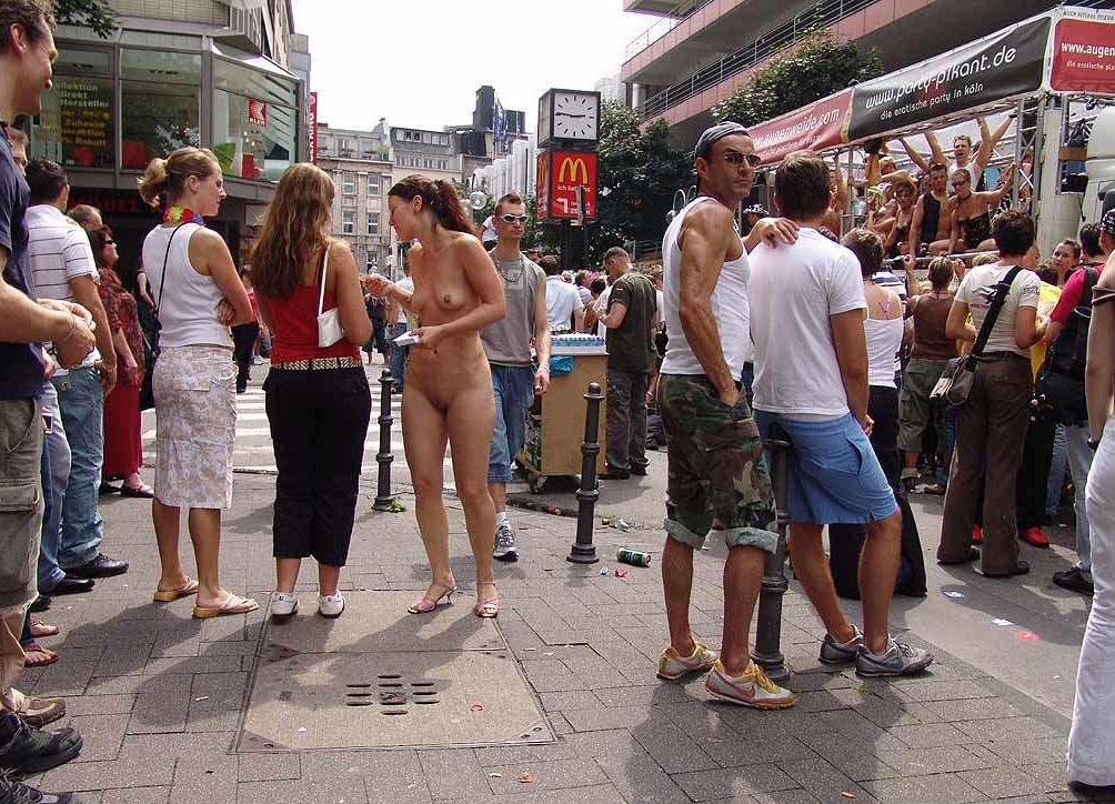 Naked budapest street parade girls gif opinion you